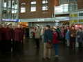 Jyväskylän rautatieläisten mieskuoro Jukka Parviainen matkakeskus vappu 2007.png