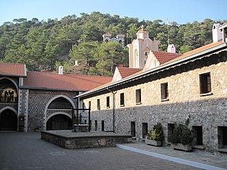 Kykkos Monastery - Kykkos Monastery, Exterior View