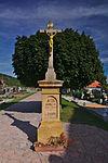 Kříž na hřbitově, Vísky, okres Blansko.jpg