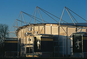 KC Stadium in the day