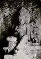 KITLV - 82392 - Kurkdjian - Soerabaja - Statue in a temple of Prambanan in Yogyakarta - circa 1910.tiff
