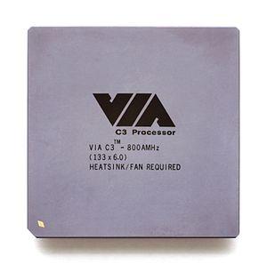 VIA C3 - VIA C3, 800 MHz