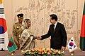 KOCIS Korea-Bangladesh summit on May 18, 2010 (4617586461).jpg