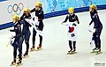 KOCIS Korea ShortTrack Ladies 3000m Gold Sochi 21 (12629821654).jpg