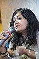 Kaberi Roychowdhury Discusses - Bitarka Na Hale Sahitya Janaprya Haina - Apeejay Bangla Sahitya Utsav - Kolkata 2015-10-10 5456.JPG