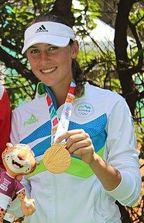 Kaja Juvan Slovenian tennis player