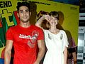 Kalki Koechlin ad Prateik Babbar at the 'My Friend Pinto' film promotions.jpg