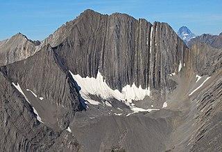 Mount Lyautey Mountain in Alberta, Canada