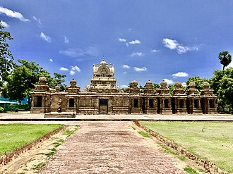 Kanchi Kailasanathar Temple - Outer view of the temple