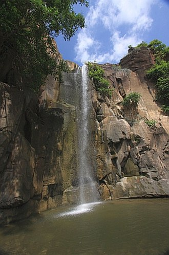 Beed - The Kapildhar fall in Balaghat range about 18 km south of Beed city.