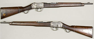 Martini–Enfield - Martini-Enfield carbine. From the Swedish Army Museum.