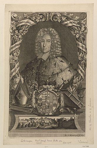 Charles Joseph of Lorraine - Image: Karel III. Lotrinský