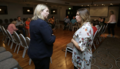 Karen Bradley welcomed the opportunity to meet residents and community workers from the Bogside Partnership Board to discuss the impact recent disorder had on their community, as well as other sensitive issues a (43753384642).png