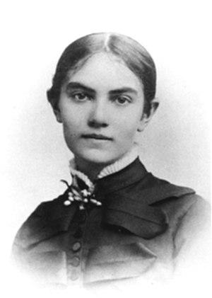 Karin Bergöö Larsson - Karin Bergöö Larsson, photographed around 1882