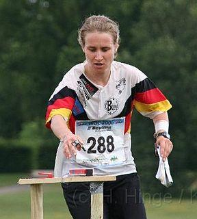 Karin Schmalfeld German orienteering competitor