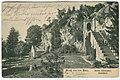Karl F. Wunder PC 0001B Gruß aus dem Harz. Ruine Scharzfels. Schloßhof. Ansichtsseite.jpg