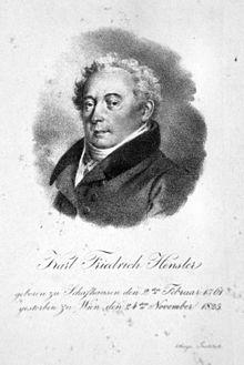Karl Friedrich Hensler, c.1820 (Source: Wikimedia)