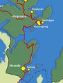 Kart av Stranda innenfor nordkapp kommune..png