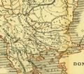 Karte aus dem Buch Römische Provinzen von Theodor Mommsen 1921 16g.png