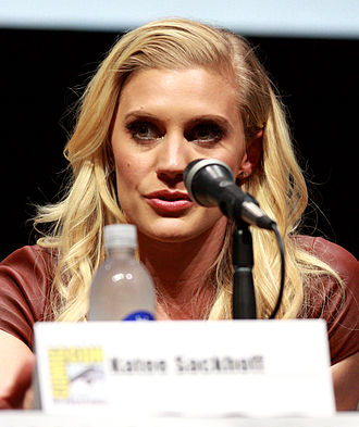 Katee Sackhoff - Sackhoff at the 2013 San Diego Comic-Con International