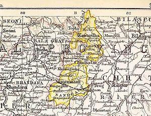 Chhuikhadan State - Chhuikhadan State in the Imperial Gazetteer of India