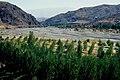 Kemah 09 1984 das breite Schotterbett des Kömür Çayı vor der Mündung in de Karasu.jpg