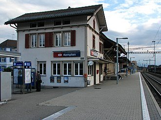Kempten, Switzerland - Kempten train station