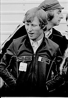 Kenny Roberts American motorcycle racer