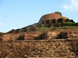 Kesaria stupa - Close up of KesariyaStupa