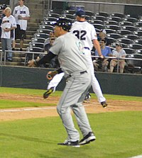 Kevin Baez coaching third (41836544522) (cropped).jpg