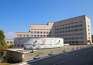 Political abuse of psychiatry in the Soviet Union - One of the buildings of the Pavlov Psychiatric Hospital in Kiev