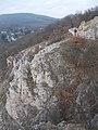 Kilátópont az Apáthy-szikla felől nézve, 2017 Nyék.jpg