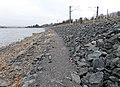 Kilbirnie Loch - railway embankment Works.JPG