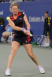 Clijsters at the 2012 US Open