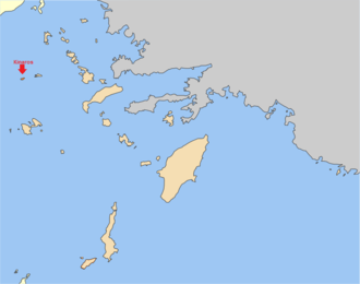 Kinaros - Kinaros on the map