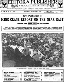 King Crane Report First Publication 1922.jpg