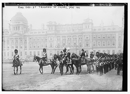 King Geo. at Trooping of Colors, May 1911 (LOC)