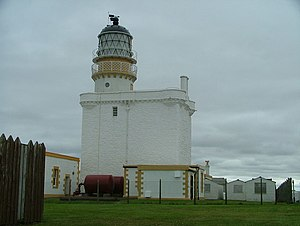 Clan Fraser - Kinnaird Head Lighthouse, formerly Kinnaird Castle, formerly Fraserburgh Castle.
