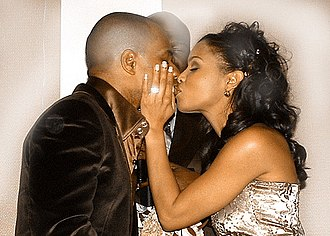 Kirk Franklin - Franklin and wife Tammy in 2006