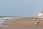 Kite surfer on the beach of Wissant, Pas-de-Calais -8042.jpg