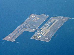 Izumisano, Osaka - Image: Kix aerial photo