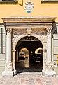 Klagenfurt Alter Platz 1 Palais Rosenberg Barockportal 18072016 3167.jpg