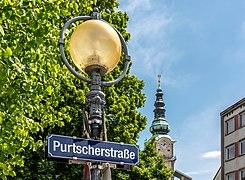 Klagenfurt Innere Stadt Purtscherstraße Straßenschild 18052020 8972.jpg