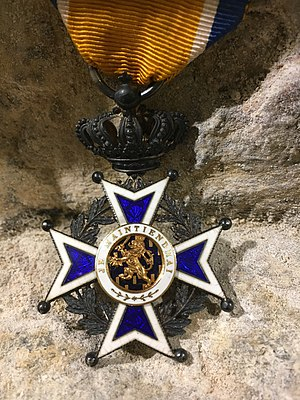 Order of Orange-Nassau - Image: Knight Orange Nassau AEA Coll