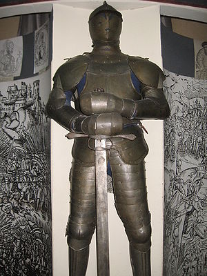 Knight into museum historical RB