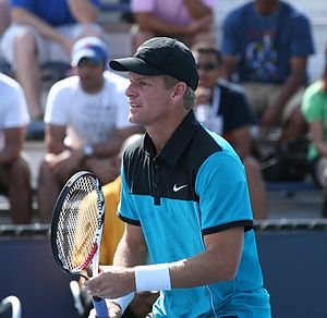 Mark Knowles - Image: Knowles 2009 US Open 01