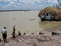 Bagbazar Ghat on Hooghly River