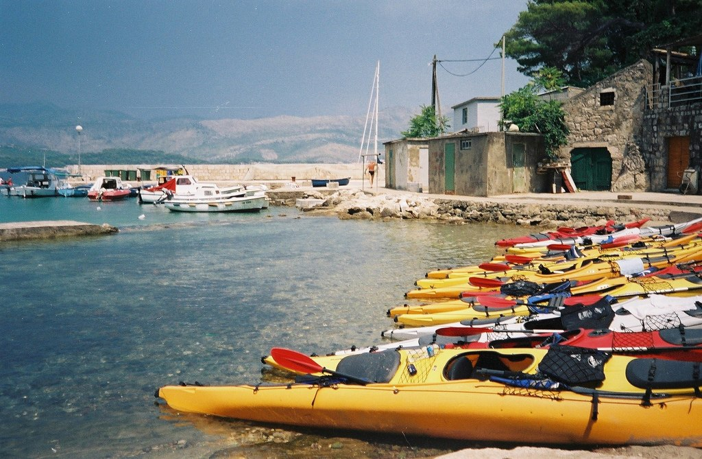 Kolocep island - kayak in Croatia