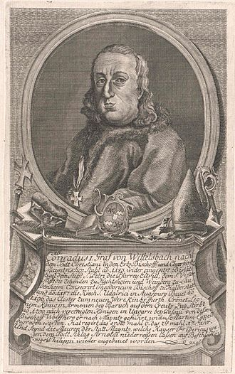 Conrad of Wittelsbach - Conrad, graphic in the Austrian National Library