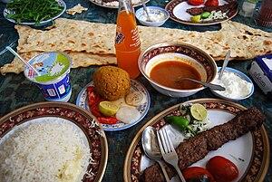 Bonab - Kabab Bonab, Tabriz köfte, and Sangak
